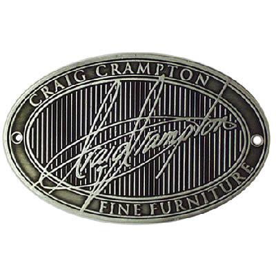 Custom Made Metal Badge