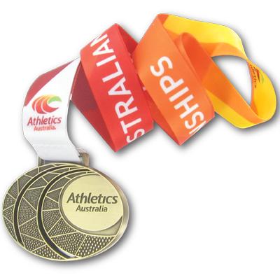 Australian Athletics Antique Gold