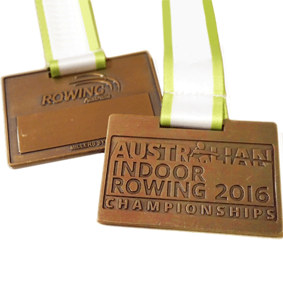 Aust Indoor Rowing Antique Copper