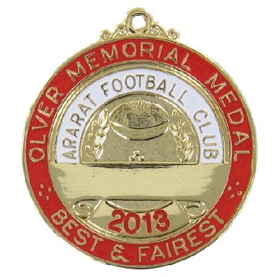 Ararat Football Club - Best and Fairest Medal