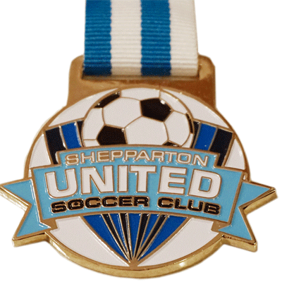 Sheparton United Soccer Gold + Colour