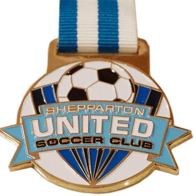 Sheparton United Soccer Gold + Colour