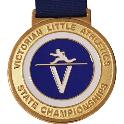 Victorian Little Athletic Gold