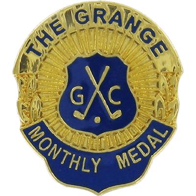 Custom sporting club badge