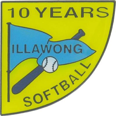 Custom sporting badge